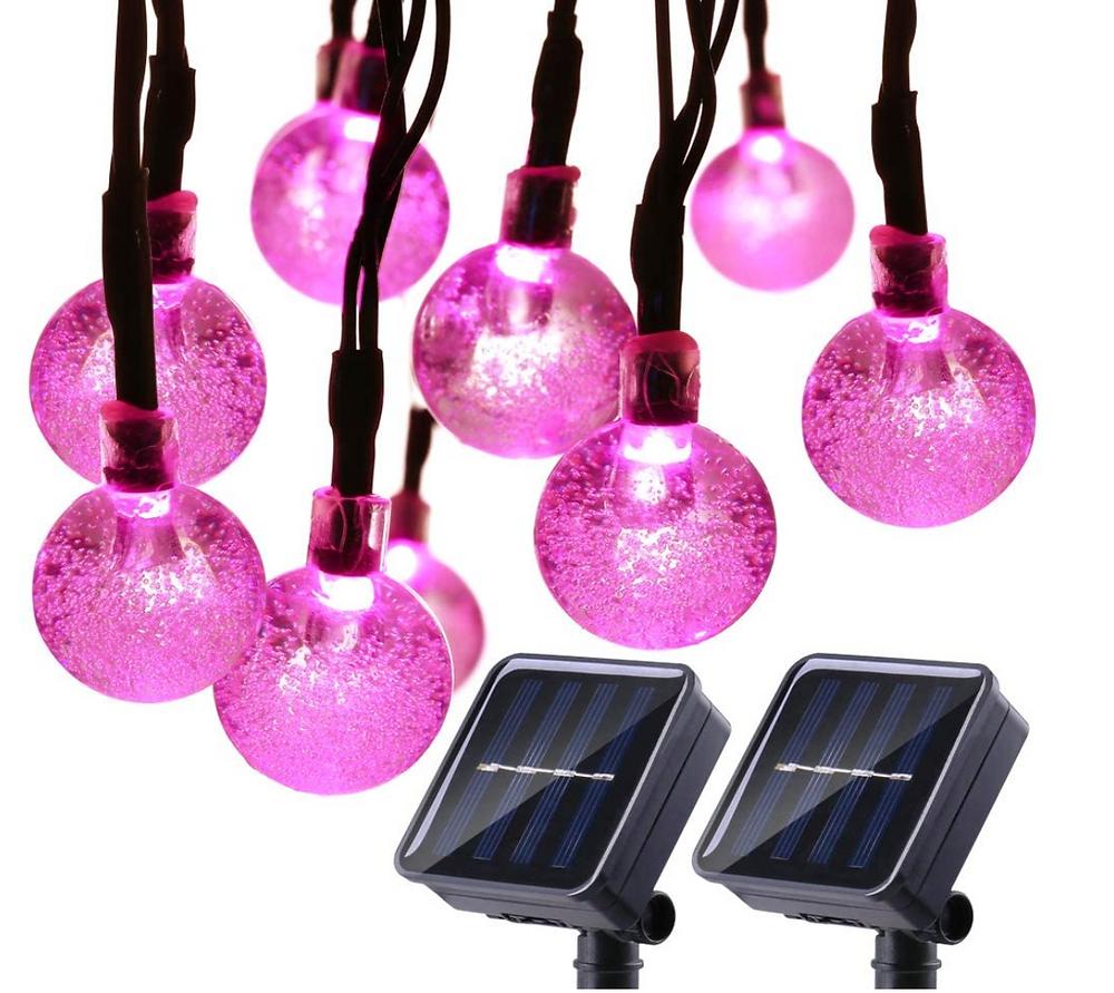 Best Selling Solar Globe String Garden Lights