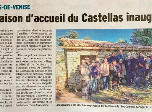 La maison d'accueil du Castellas inaugurée