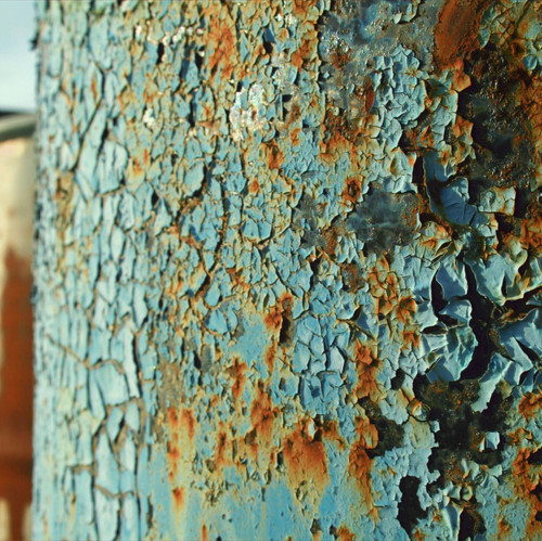 I shot this photo as I really liked how the bright color and chipping paint made for an interesting composition of an otherwise simple object.