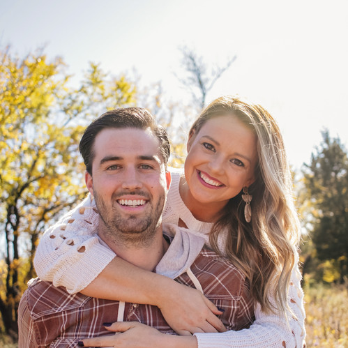 I took this photo of my cousin and her husband during a family photo session I did for them. I chose to include it as it shows diversity in my portfolio.