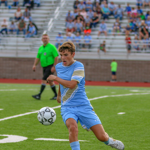 I chose to include this soccer photo as I think it is a solid action shot and like the combination of a strong focus and interesting subject.