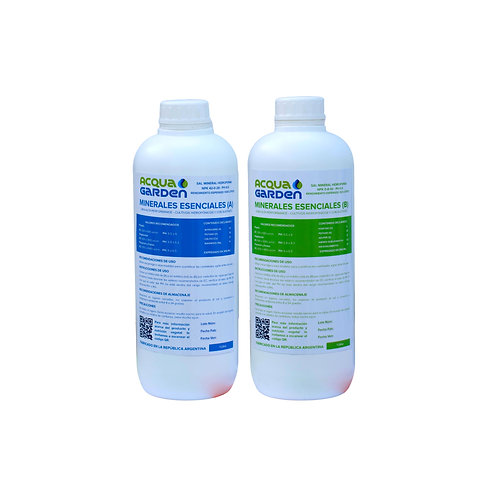 Kit Sales minerales AB - Hidroponia