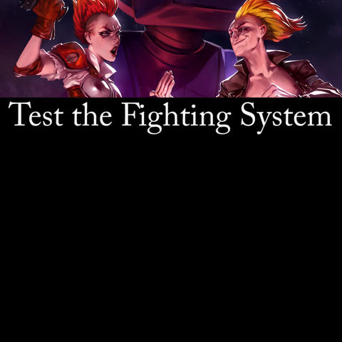 Test the fighting system