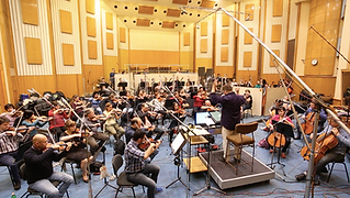 Recording with the BSO
