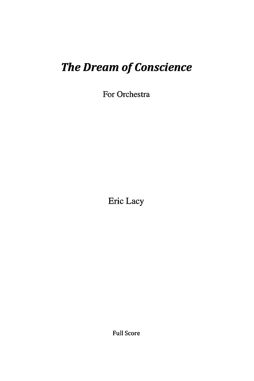 The Dream of Conscience