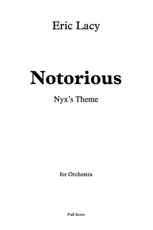 Notorious: Nyx's Theme
