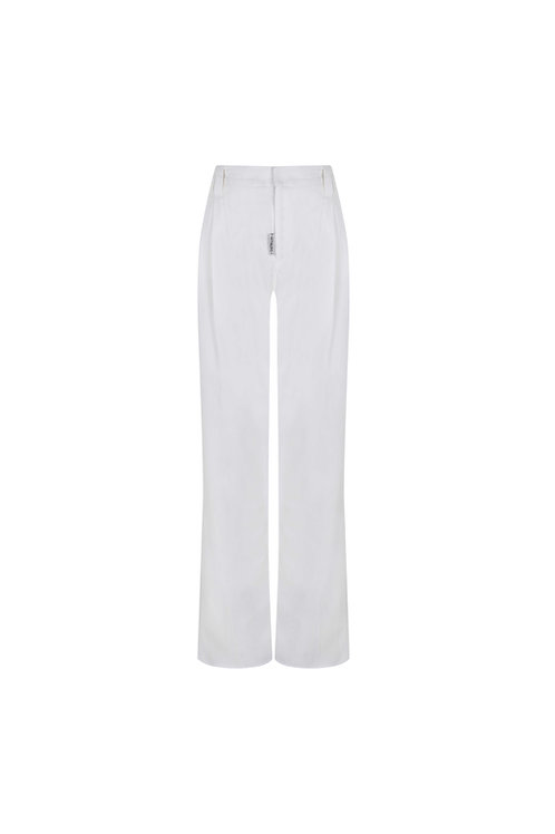 P-21-2-001 CHICAGO  TROUSERS BLANCO
