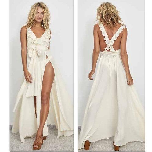 Vestido Bam White