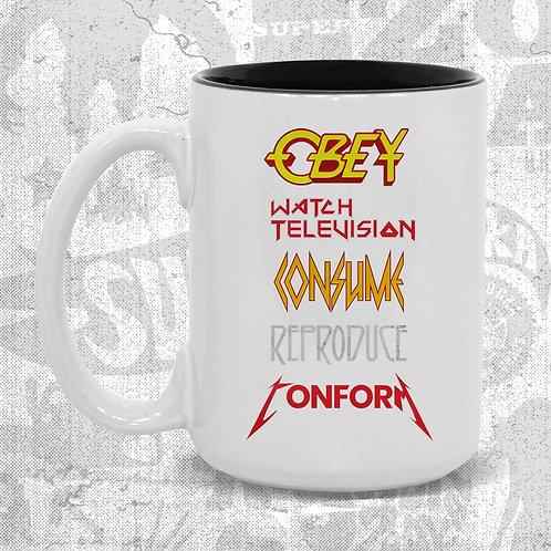 OBEY Metal Mug