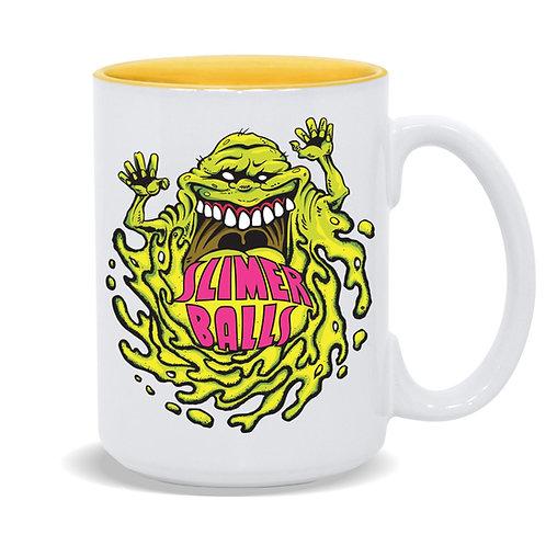 Slimer Balls 15oz Coffee Mug