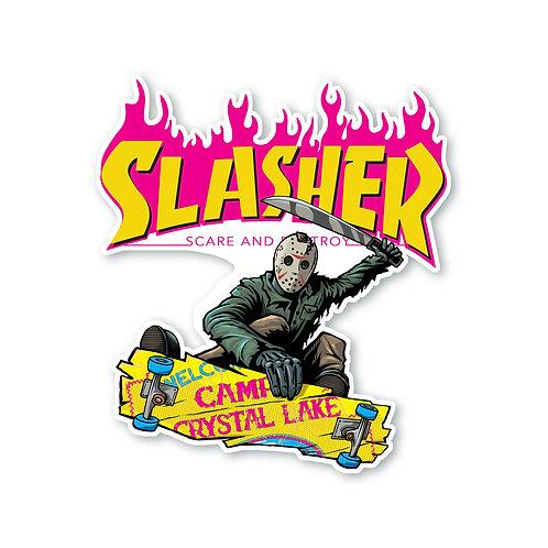 """Slasher Jason 5.5"""" Sticker"""