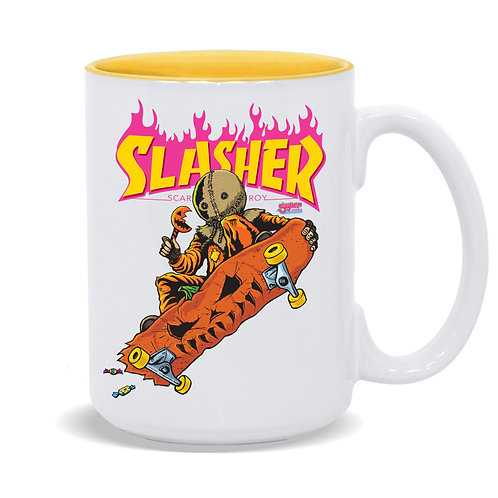 Slasher Sam 15oz Coffee Mug