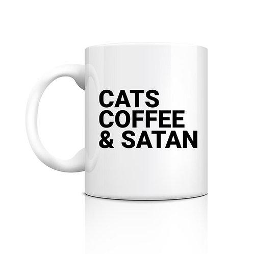 Cats Coffee & Satan