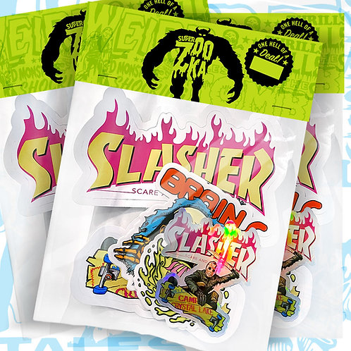ZOOKA Stickers & Stuff pack