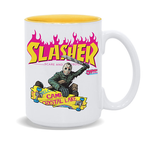 Slasher Jason 15oz Coffee Mug