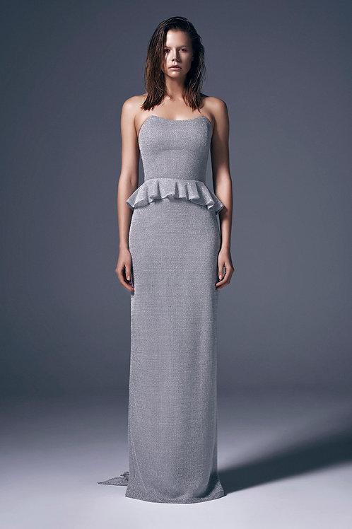 CORSAGE MAXI DRESS