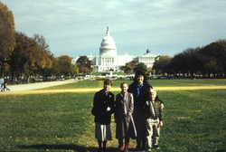 Family on Capitol Mall-Nov 1 '96