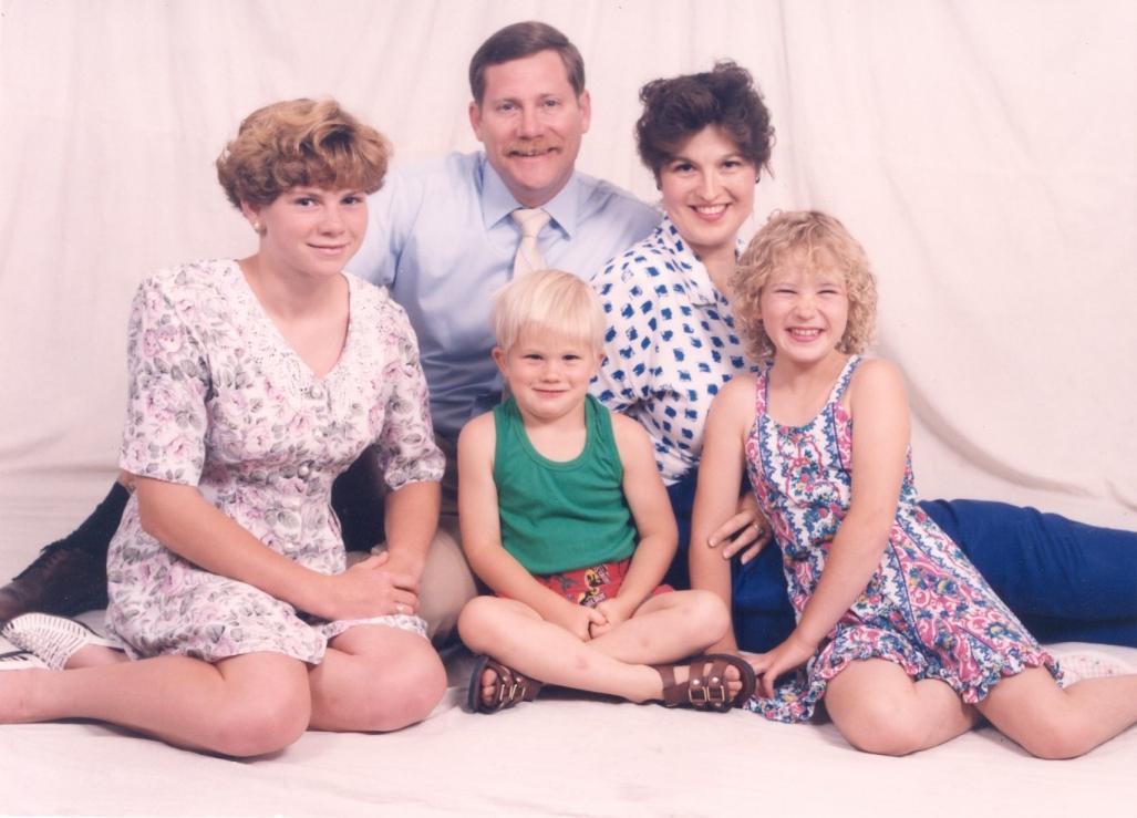 Family Christmas 1993