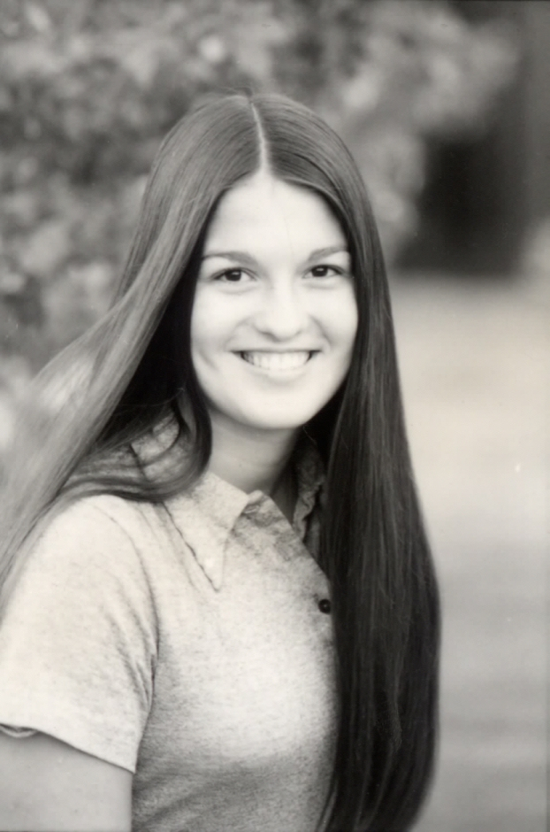 Trinka- as APC coed-circa 1974