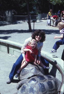 at Oakland Zoo in Spring '82