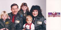 Family Christmas 1989