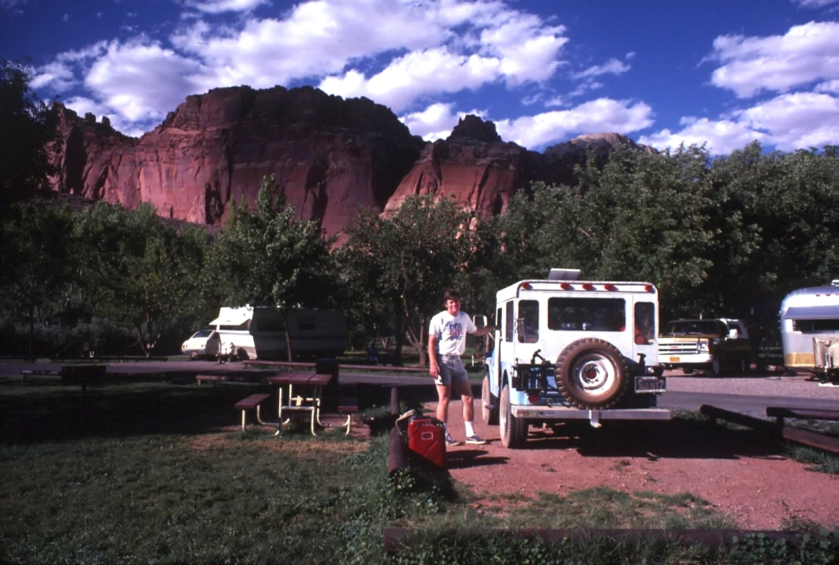 At Fruita Campground Sept '77