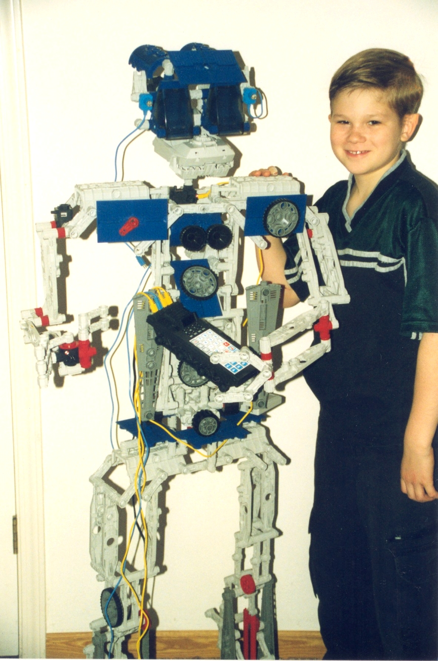 Jonathan's Robot March '99