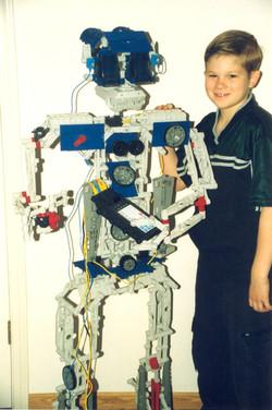 Jonathan's Robot March '99