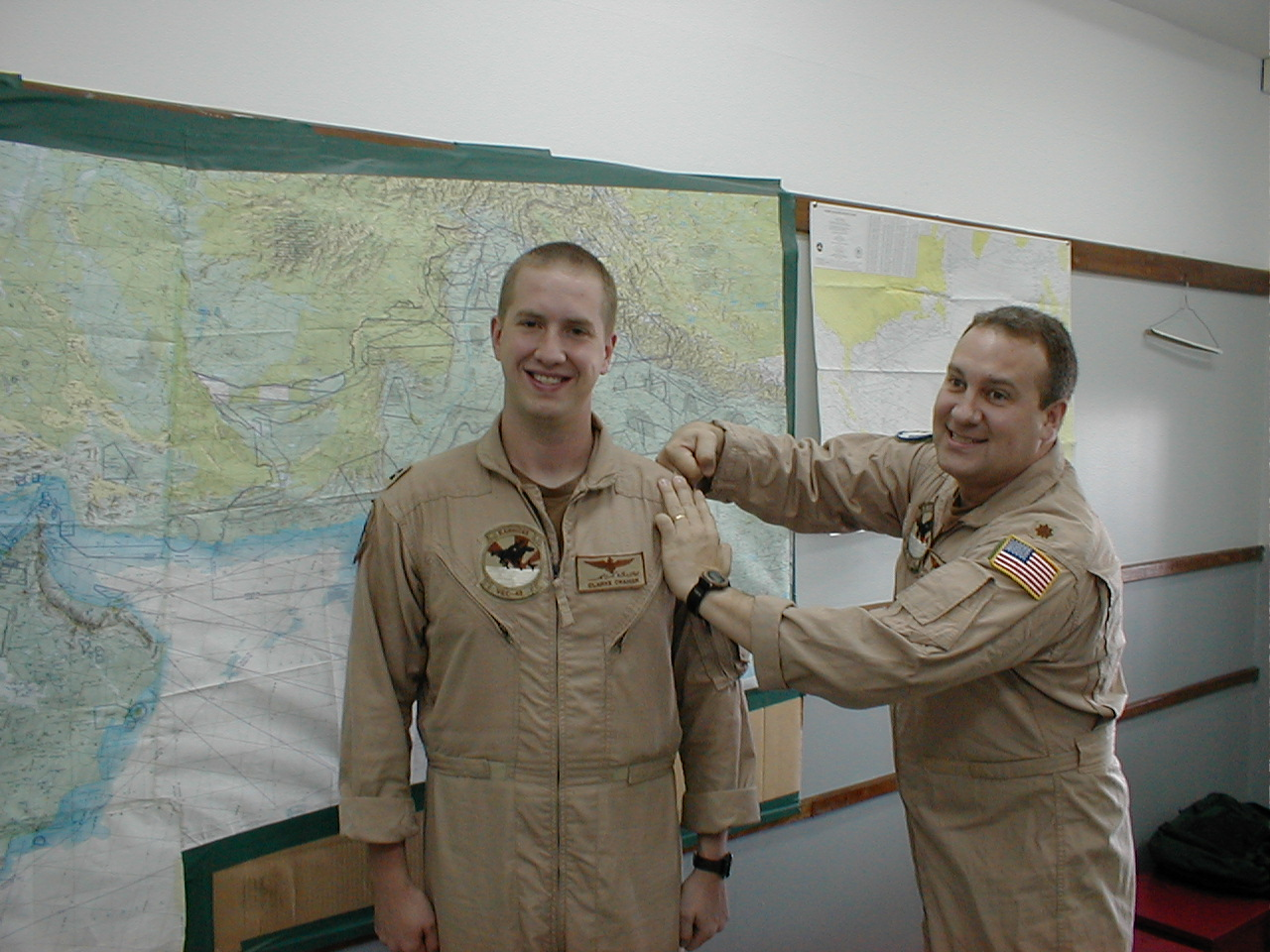 LT Clarke Cramer promotion June 2002
