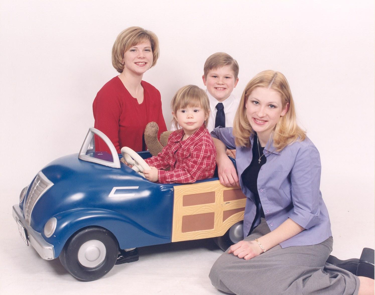Rogers kids Christmas 1999