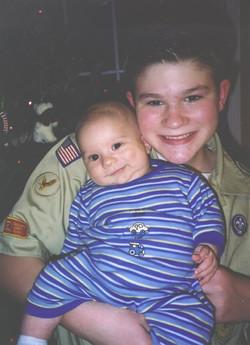 Jonathan and Daniel at 10 weeks