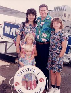 Family in Hawaii 1991