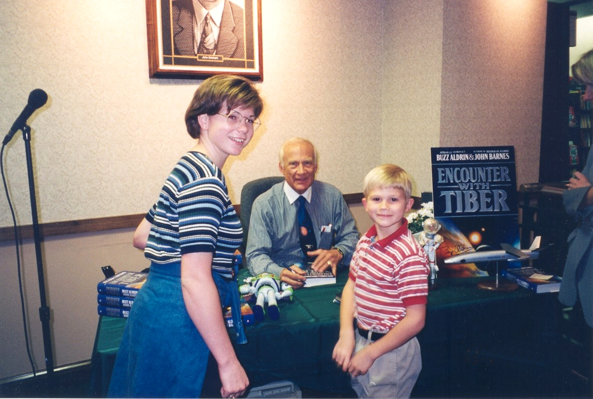 Buzz Aldrin Sept '96
