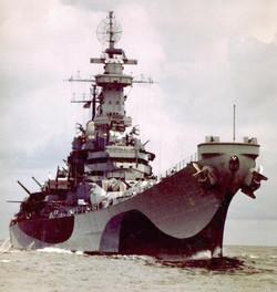 Missouri shake down cruise-1943