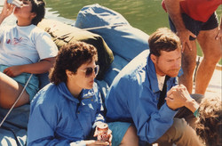 Dave and Trinka Grand Canyon Oct '85