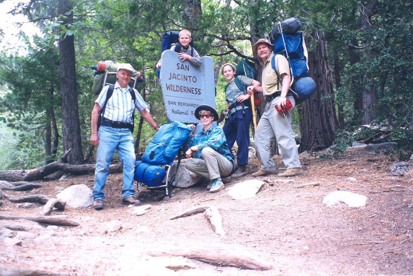 San Jacinto backpack June '97