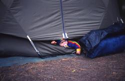 Beckie Camping Aug '79