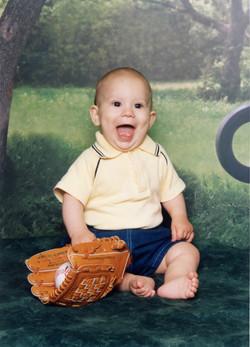 Daniel laughing-June 2003