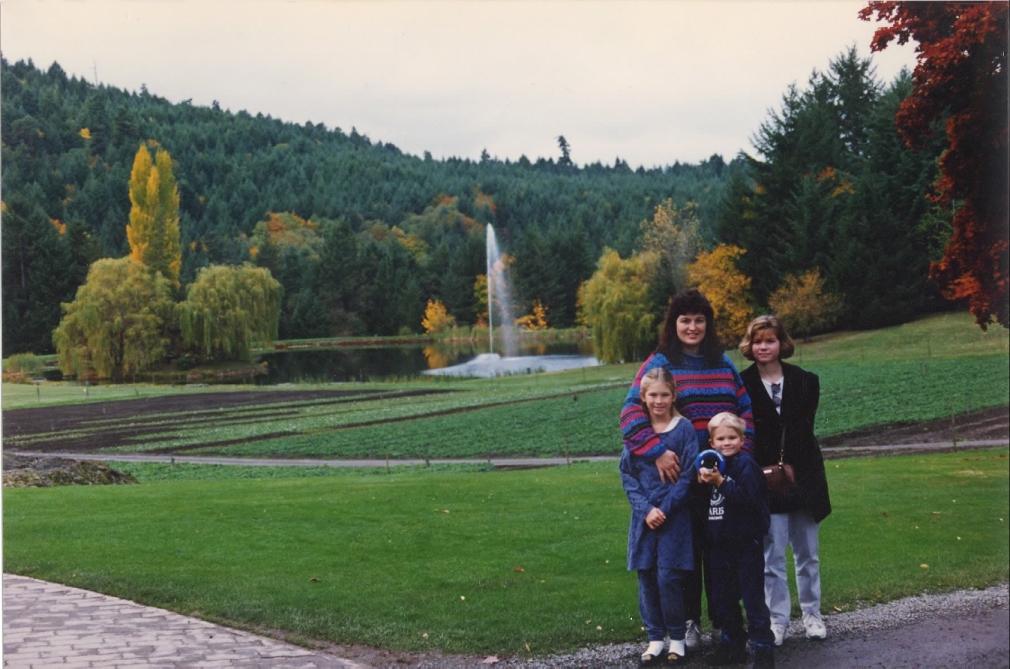 Butchart Gardens Nov '94