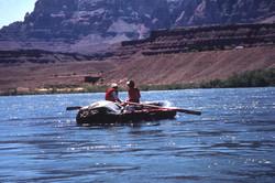 Departing Lee's Ferry June '83