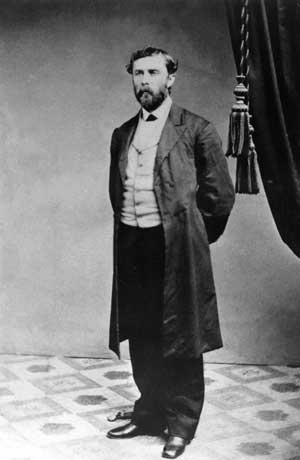 Theodore Judah standing