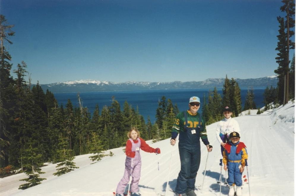 last ski trip Spring '94
