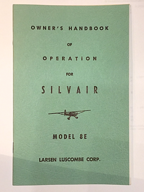 Luscombe Owner's Handbook