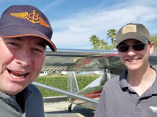 Field report with young Gavin Swanson of the Luscombe Aircraft Corporation and a close look at a nearly new 2012 Luscombe LSA-8
