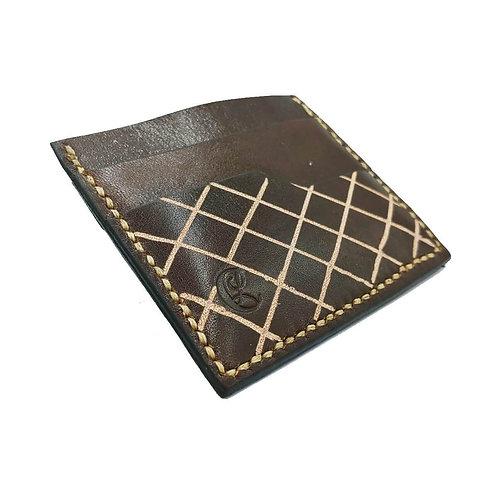 Italian Vachetta leather wallet for men