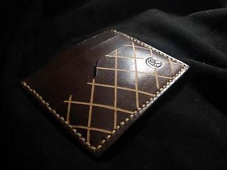 Genuine leather cardholder for men