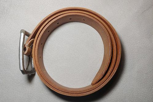 Natural eco friendly belt for men