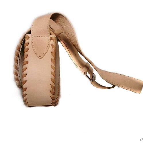 Luxury designer leather handbag for women