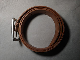 High quality leather belt from Italy
