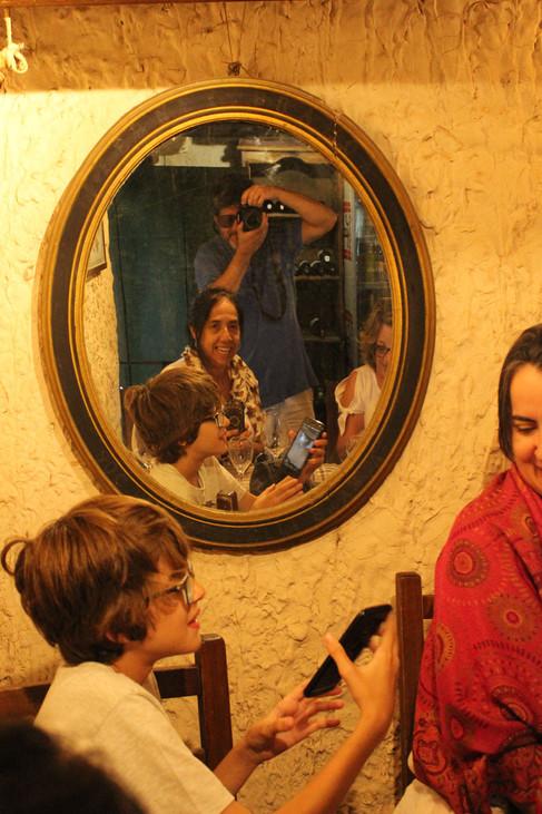 Taberna na rua dos Suspiros - Colônia de Sacramento - Uruguai